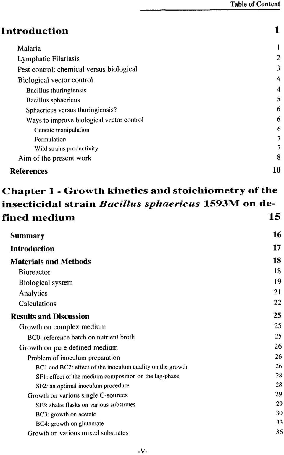 Bacillus sphaericus 1593M on defined medium 15 Summary Materials and Methods Bioreactor Biological system Analy tics Calculations Results and Discussion Growth on complex medium BCO: reference batch