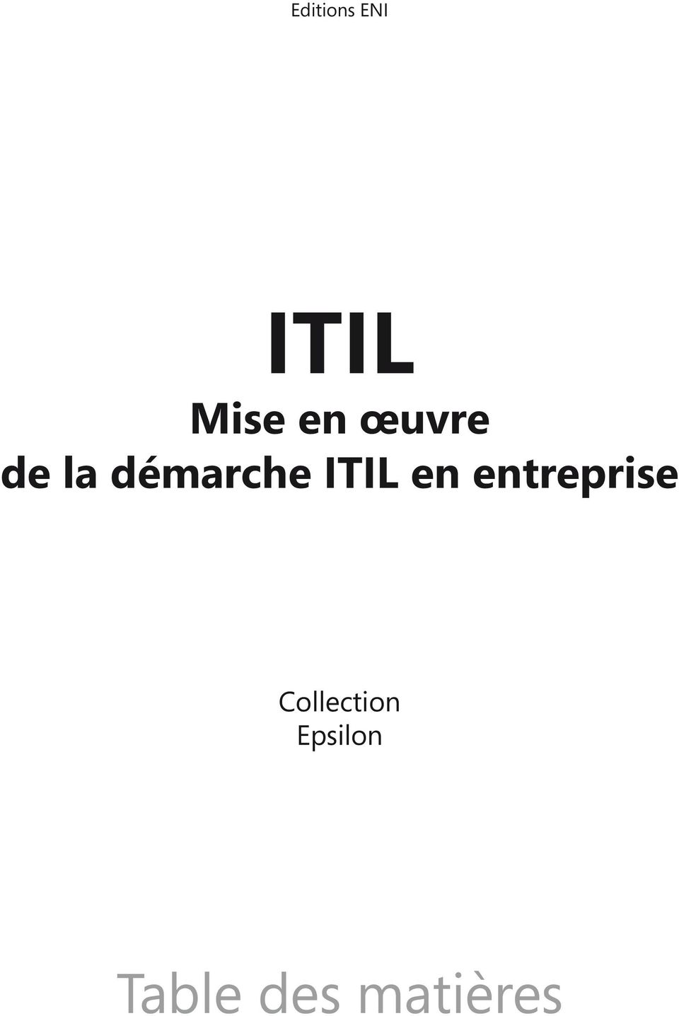 en entreprise Collection