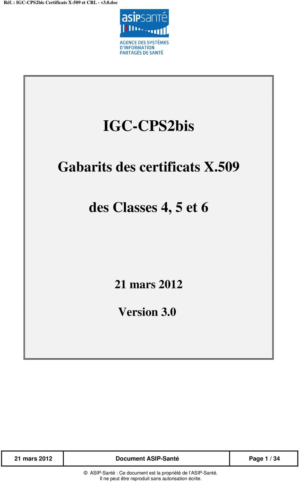 509 des Classes 4, 5 et 6 21 mars 2012 Version