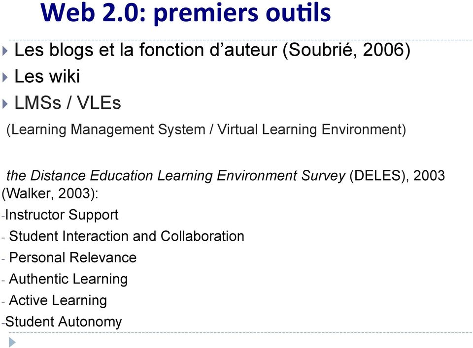 (Learning Management System / Virtual Learning Environment) the Distance Education Learning