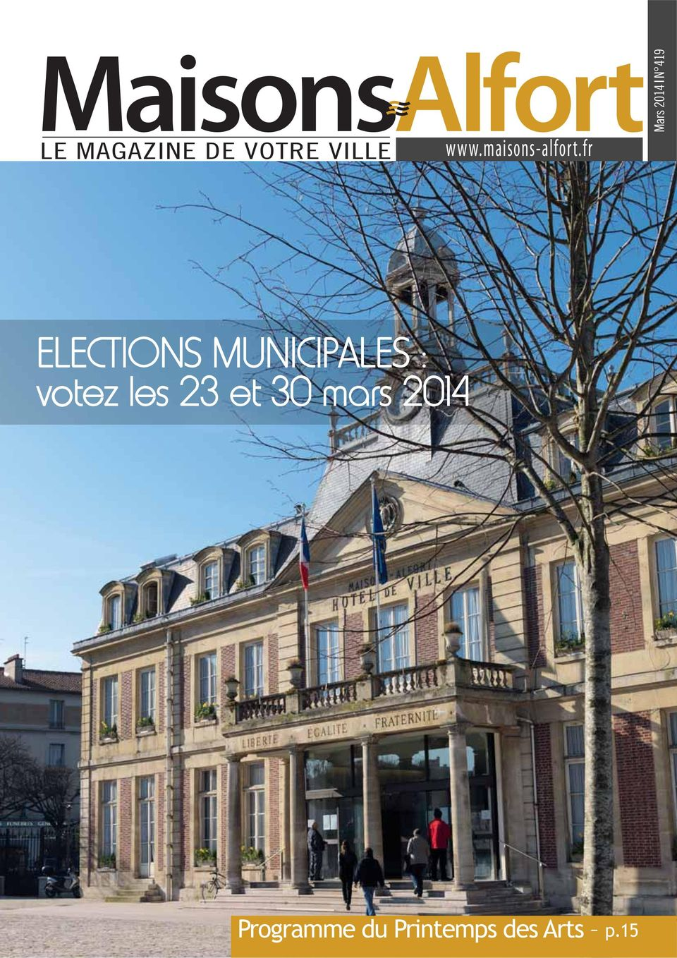 fr Mars 2014 N 419 ELECTIONS MUNICIPALES