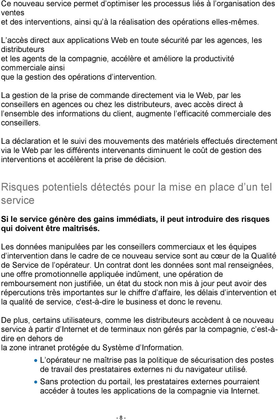 opérations d intervention.
