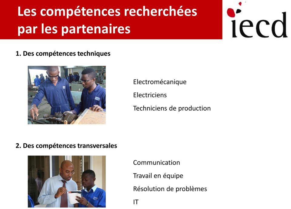 Techniciens de production 2.
