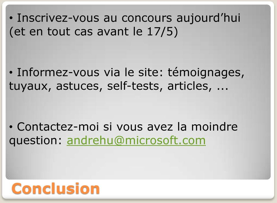 tuyaux, astuces, self-tests, articles,.