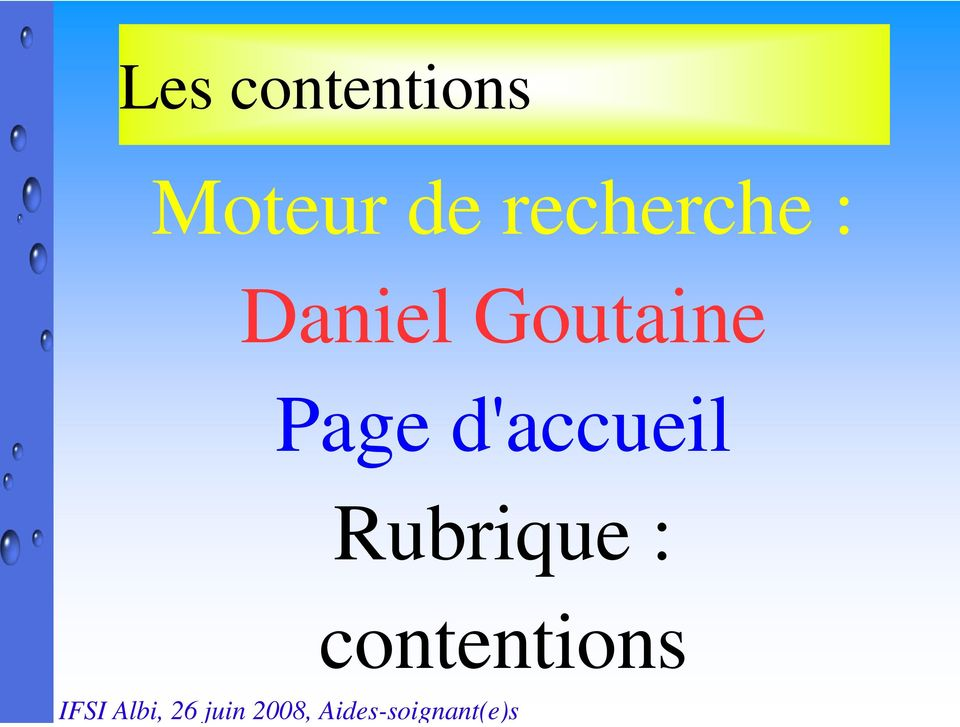 Goutaine Page
