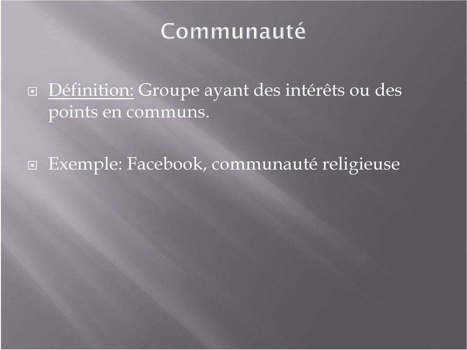 points en communs.