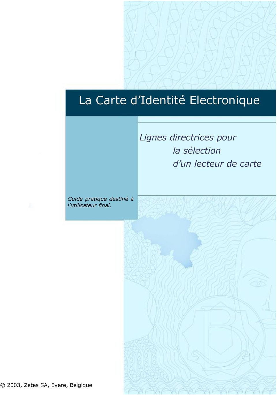 de carte Guide pratique destiné à