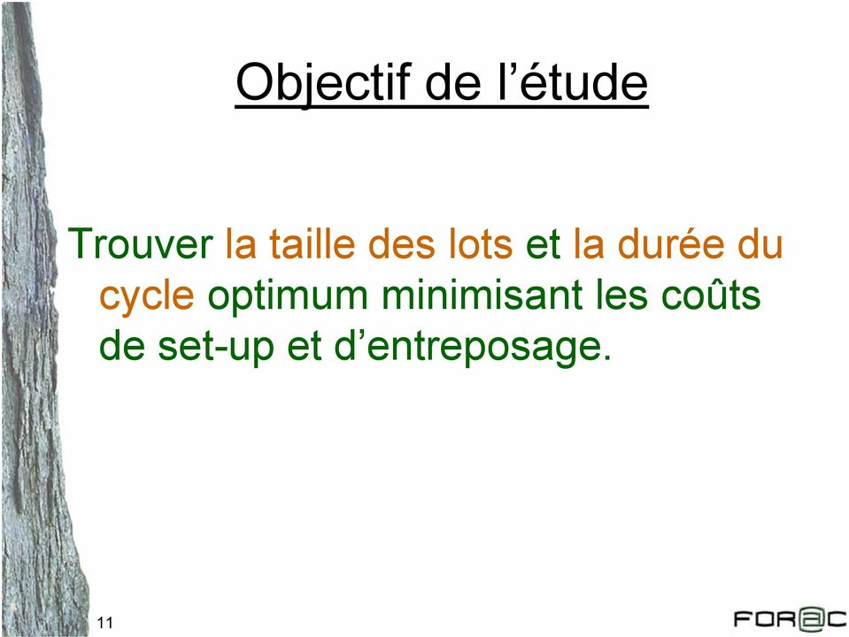 cycle optimum minimisant les