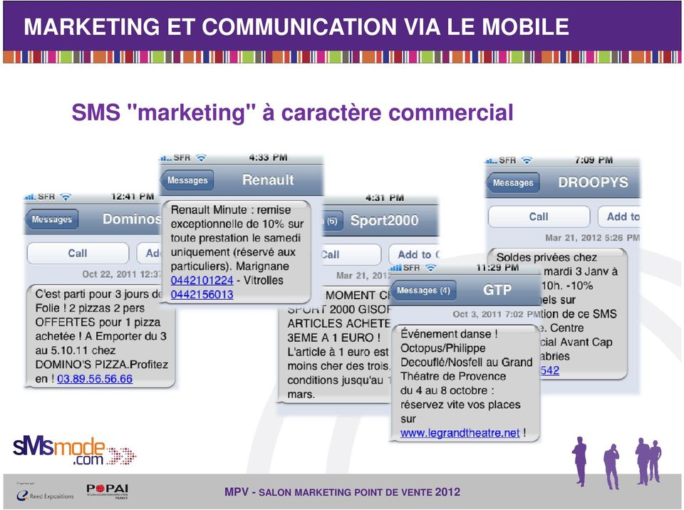 LE MOBILE SMS