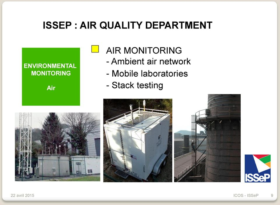 MONITORING - Ambient air network