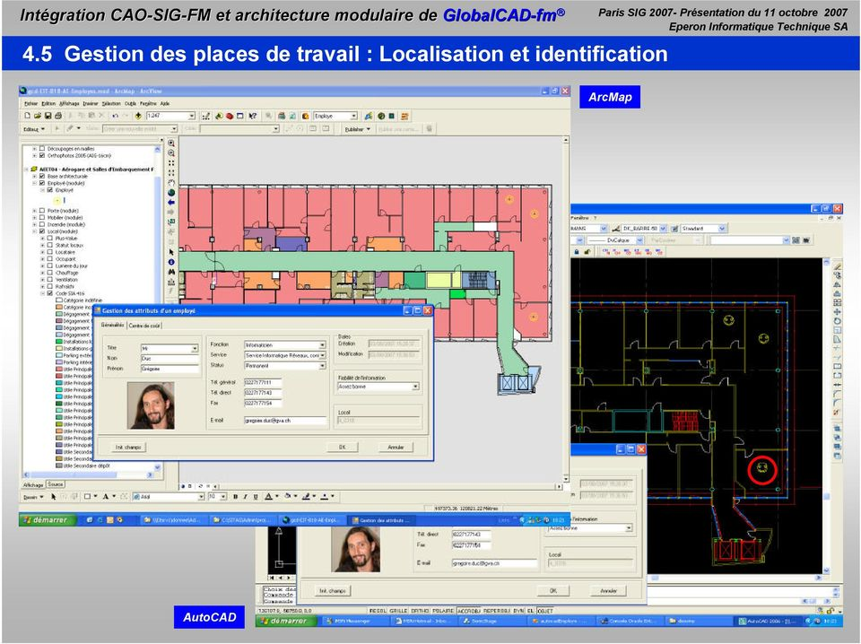 identification Paris SIG 2007-