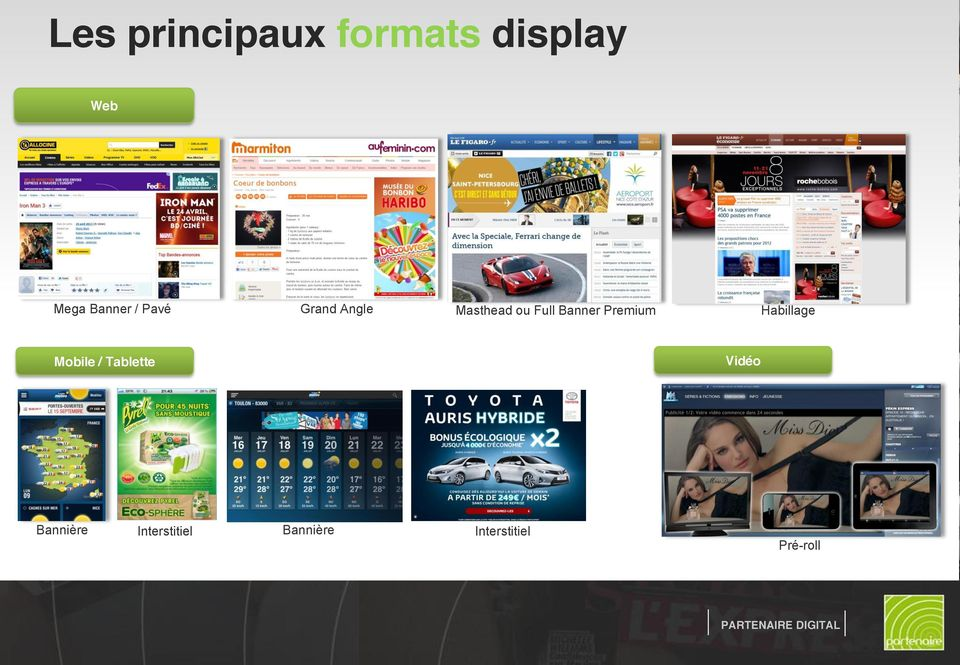 Banner Premium Habillage Mobile / Tablette