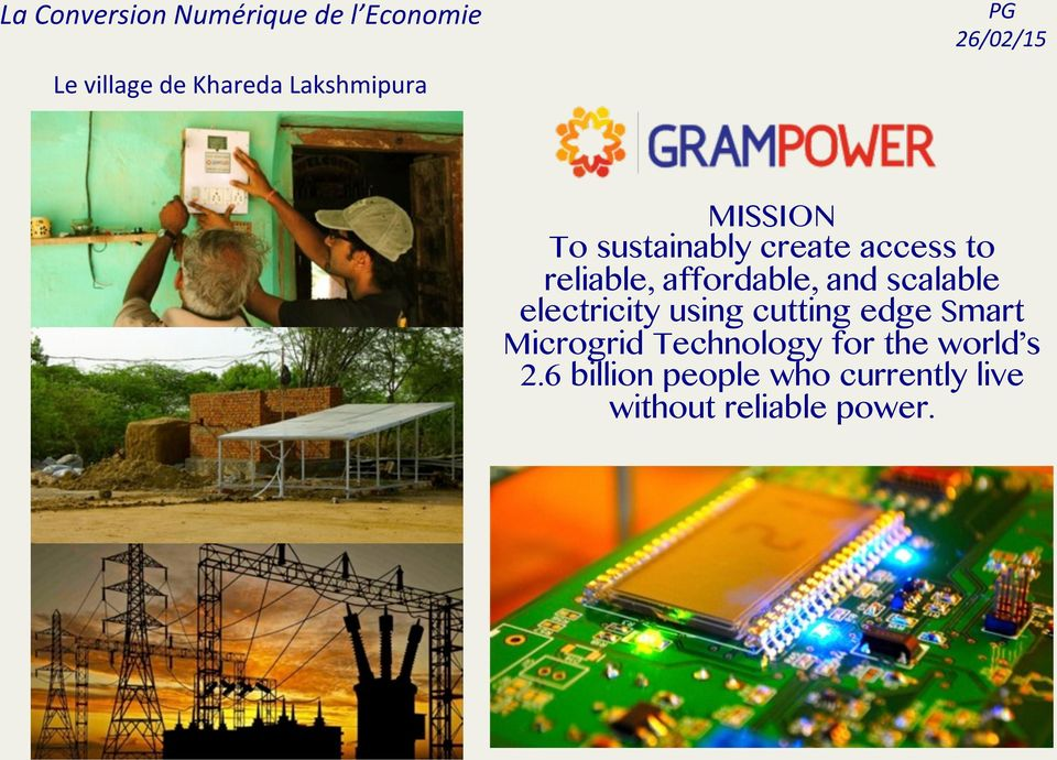 electricity using cutting edge Smart Microgrid Technology