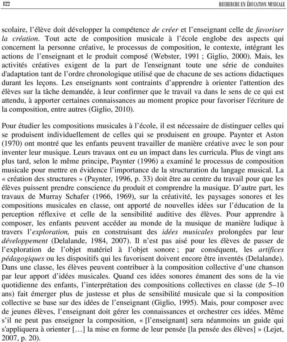 composé (Webster, 1991 ; Giglio, 2000).