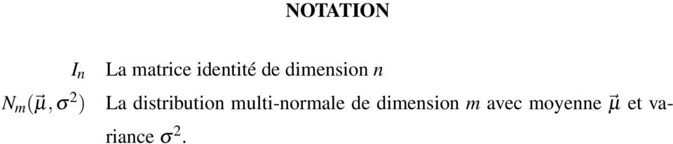 distribution multi-normale de