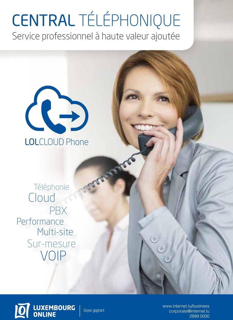 Cloud PBX Performance Multi-site Sur-mesure VoIP