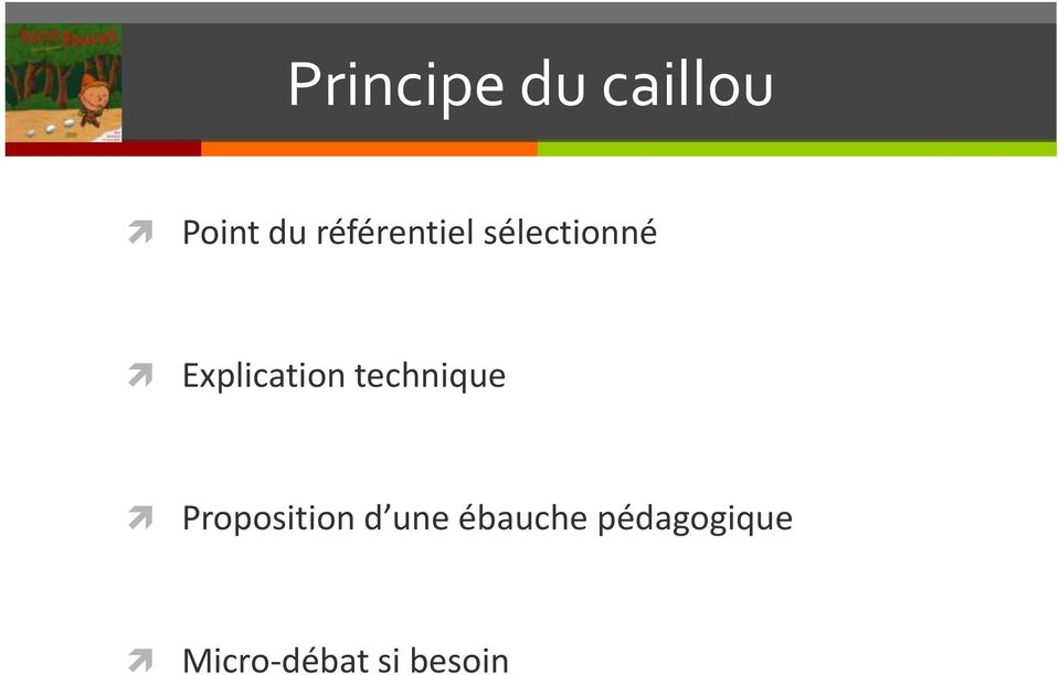 Explication technique Proposition