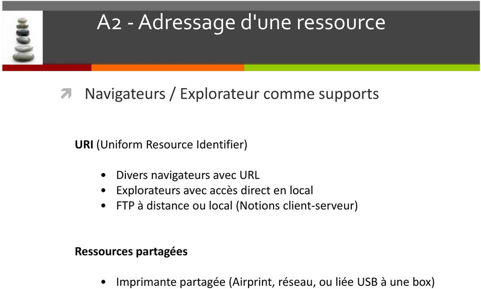 accès direct en local FTP à distance ou local (Notions client-serveur)