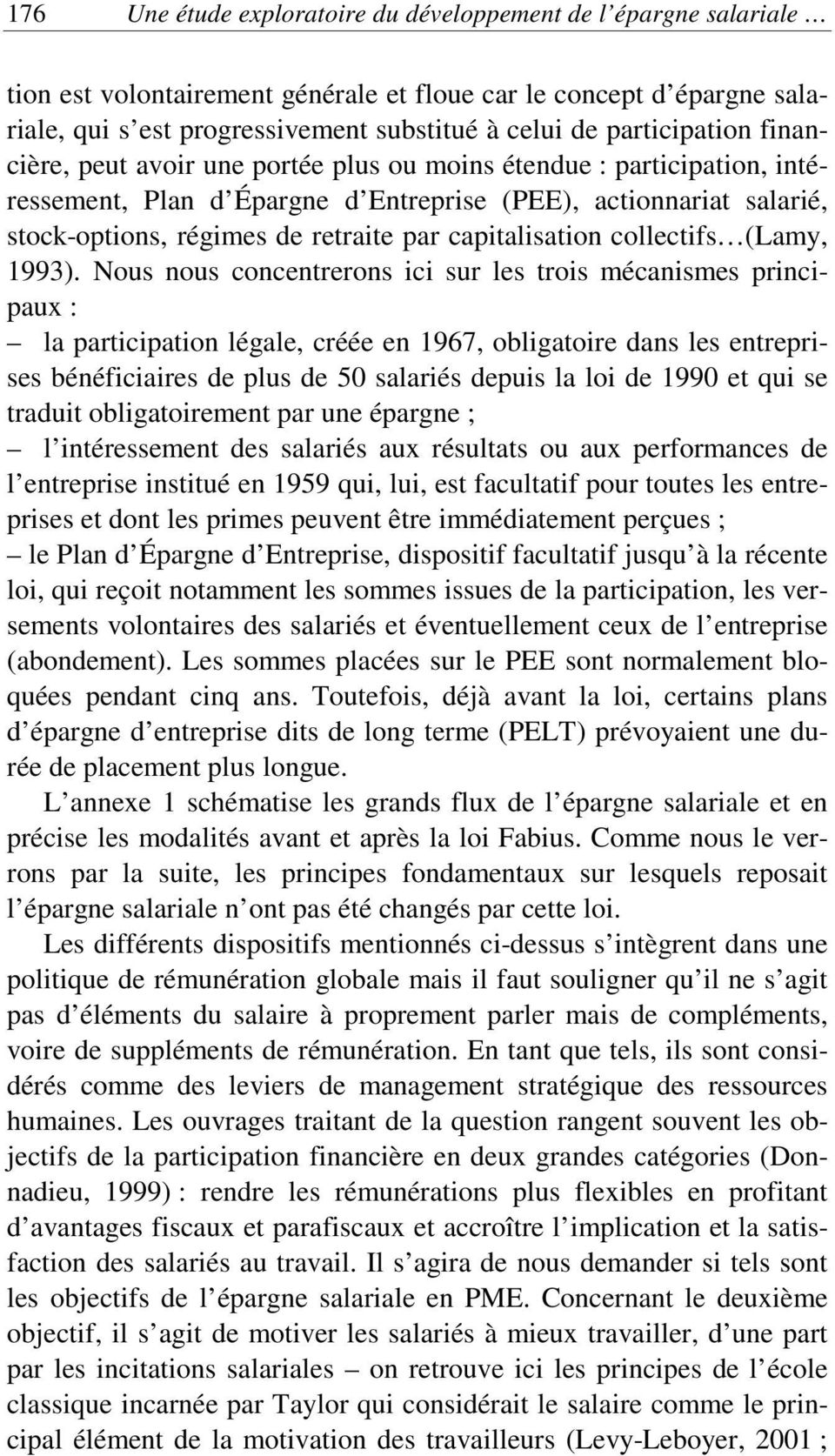 capitalisation collectifs (Lamy, 1993).