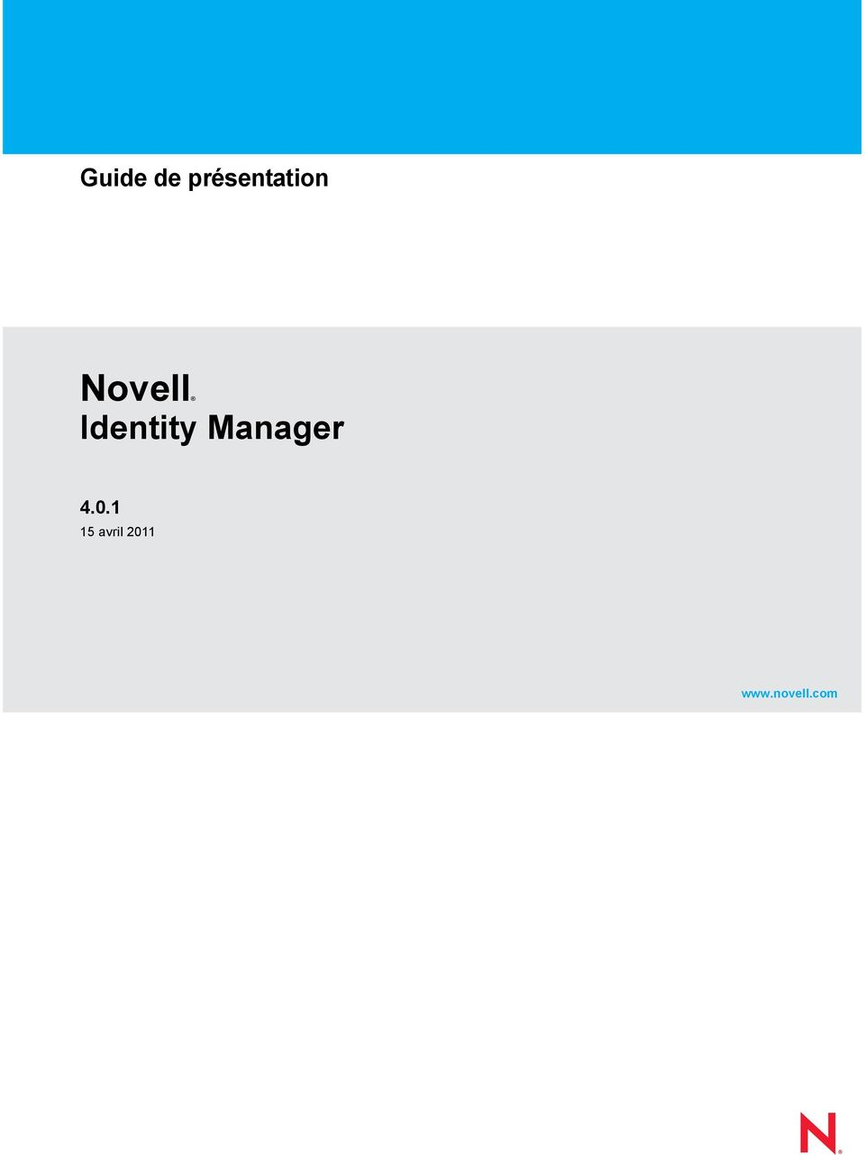 Identity Manager 4.