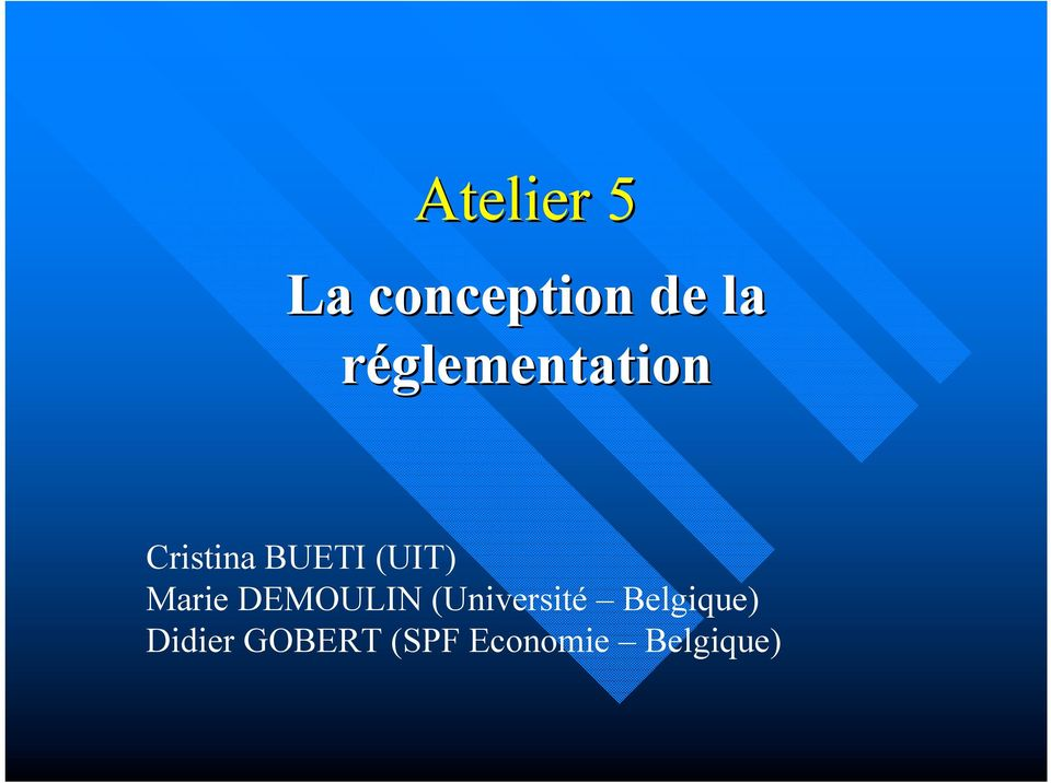 (UIT) Marie DEMOULIN (Université