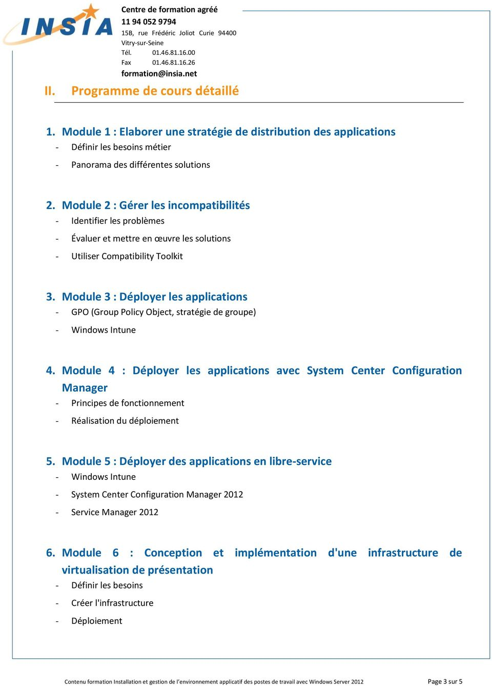 Module 3 : Déployer les applications GPO (Group Policy Object, stratégie de groupe) Windows Intune 4.