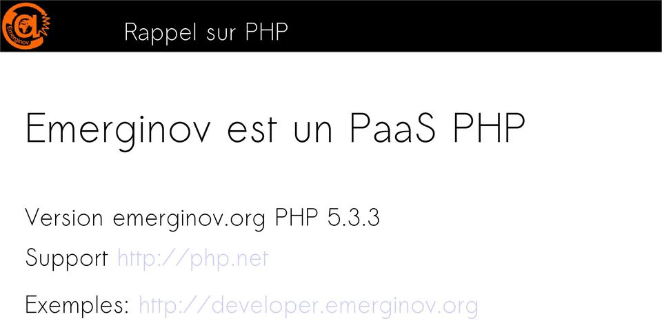 org PHP 5.3.3 Support http://php.