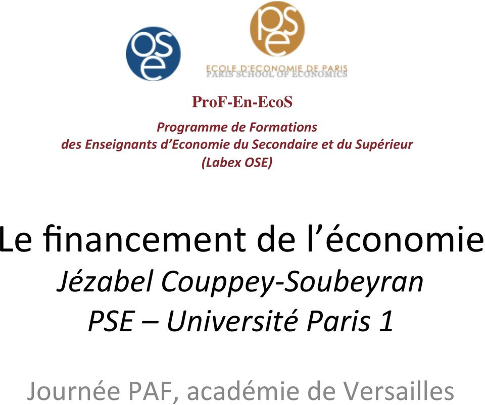PSE Université Paris 1