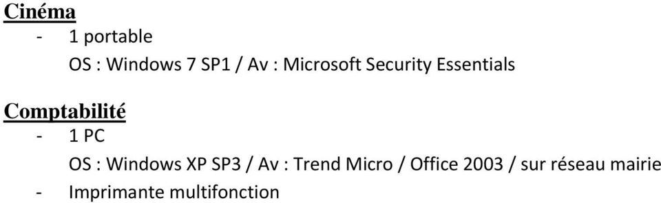 OS : Windows XP SP3 / Av : Trend Micro / Office