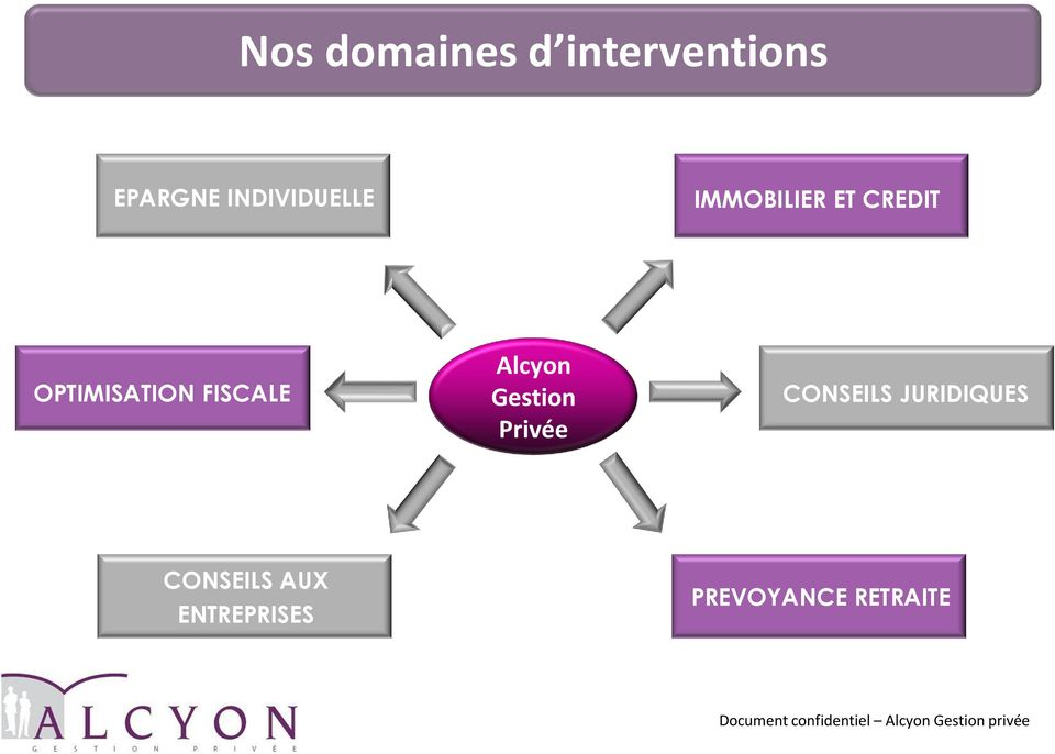 OPTIMISATION FISCALE Alcyon Gestion Privée