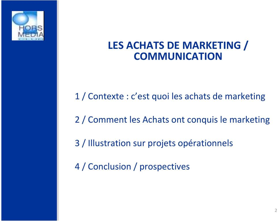 Achats ont conquis le marketing 3 / Illustration sur