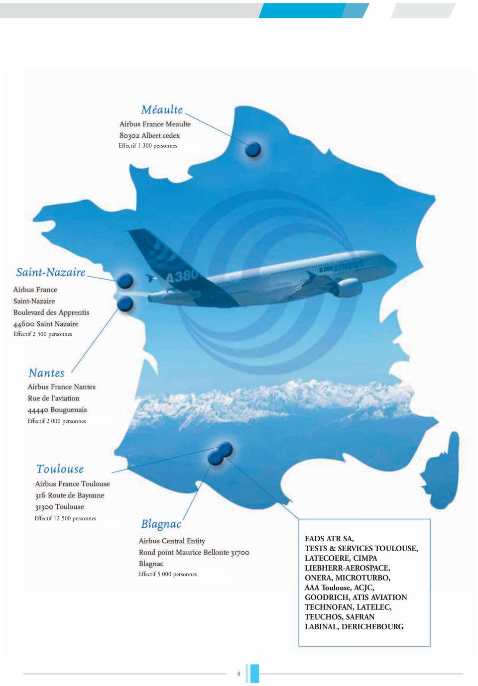 TOULOUSE, LATECOERE, CIMPA LIEBHERR-AEROSPACE, ONERA, MICROTURBO, AAA Toulouse,