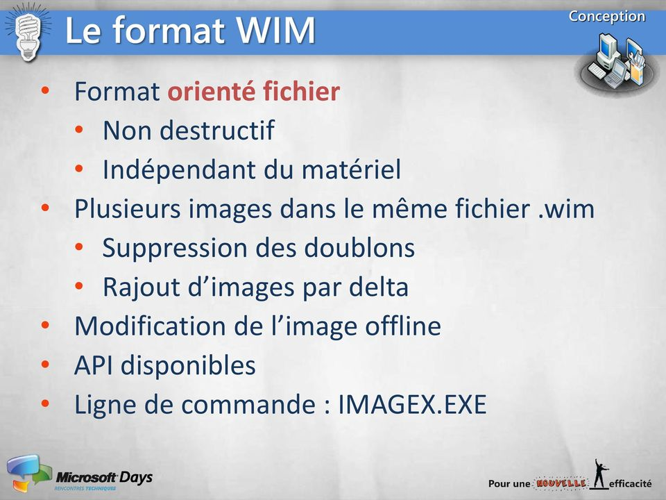 wim Suppression des doublons Rajout d images par delta