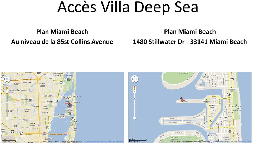 Collins Avenue Plan Miami Beach