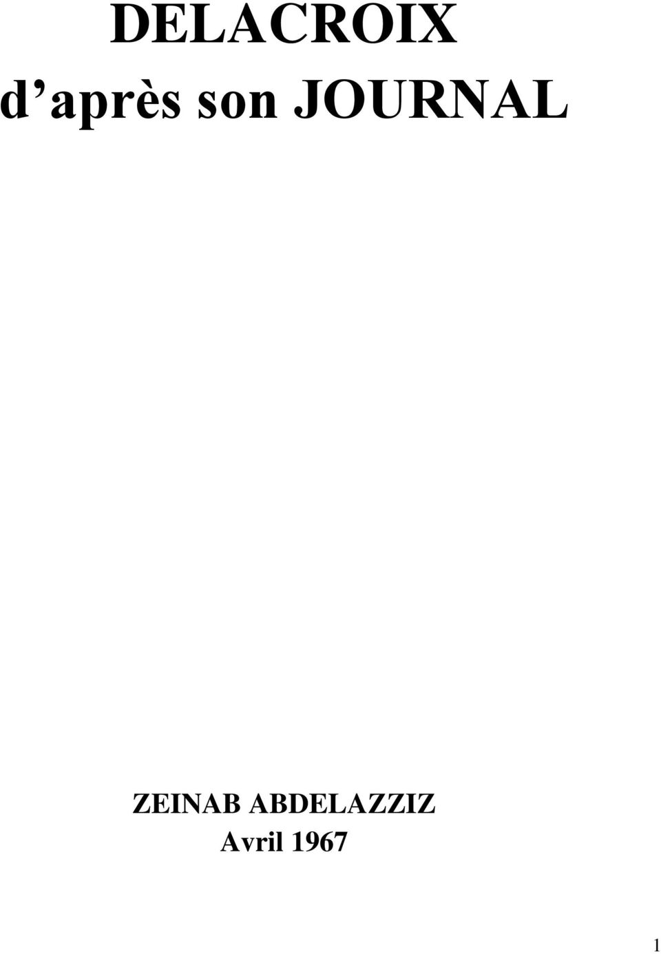JOURNAL ZEINAB