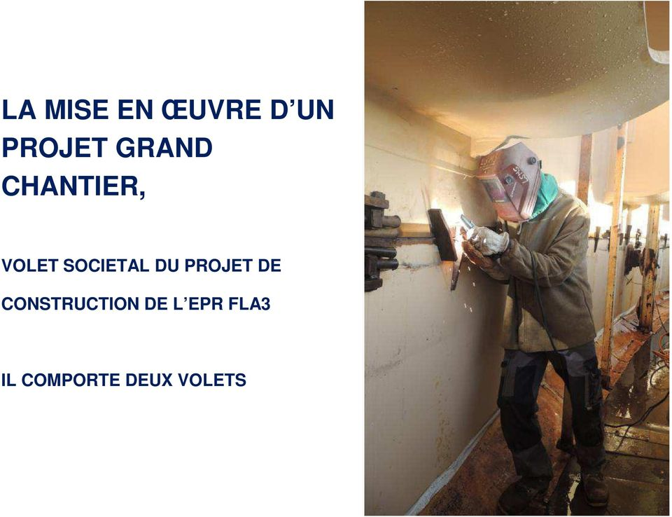 CONSTRUCTION DE L EPR FLA3 IL COMPORTE