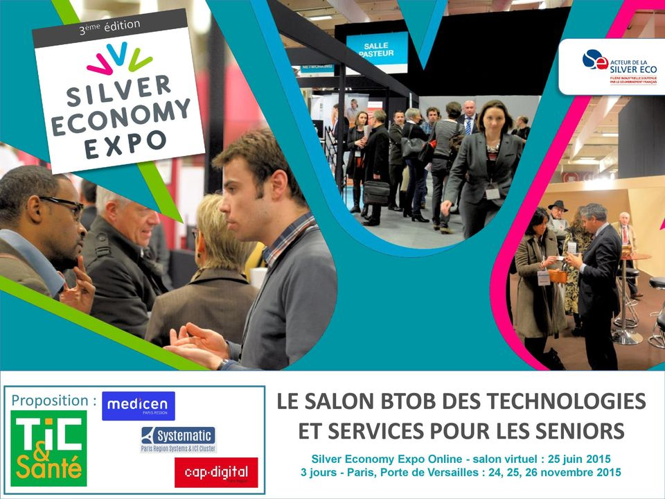 - salon virtuel : 25 juin 2015 3 jours - Paris, Porte