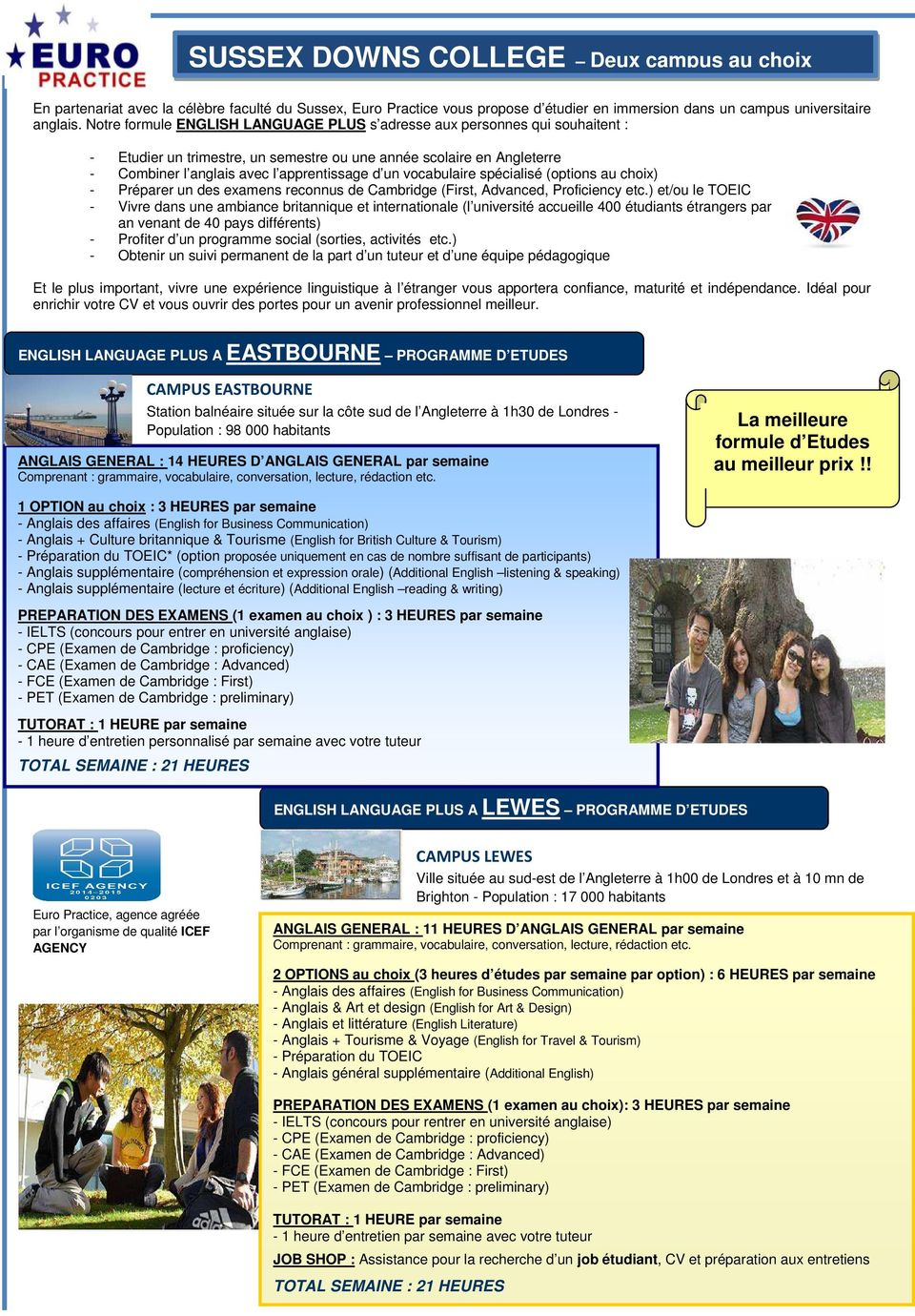 vocabulaire spécialisé (options au choix) - Préparer un des examens reconnus de Cambridge (First, Advanced, Proficiency etc.