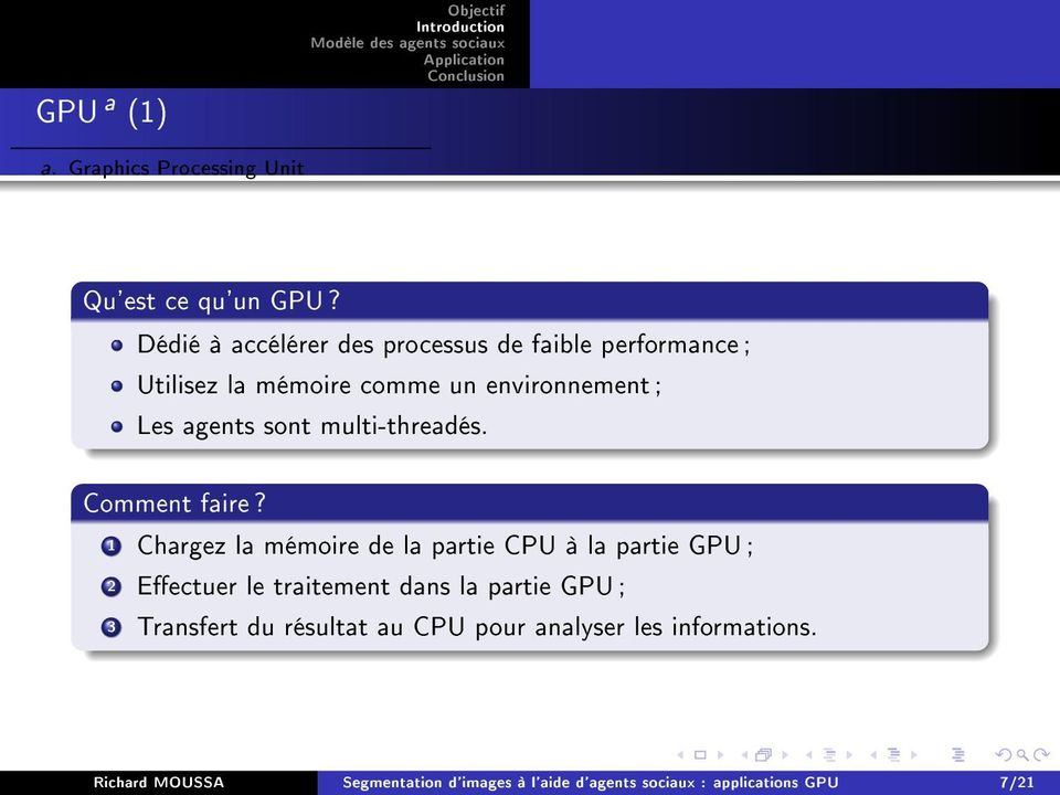 sont multi-threadés. Comment faire?