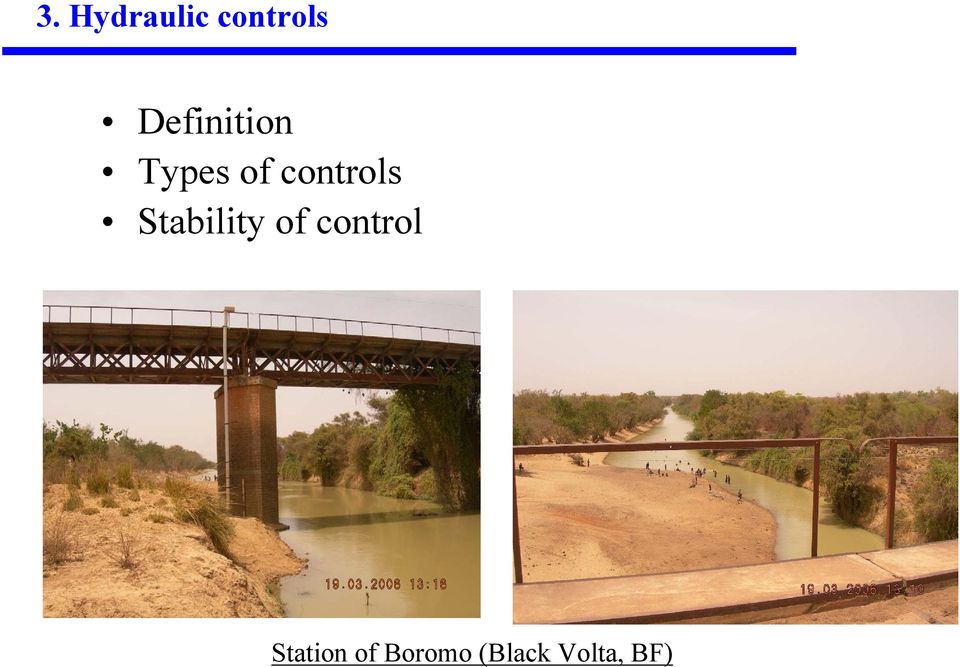 controls Stability of