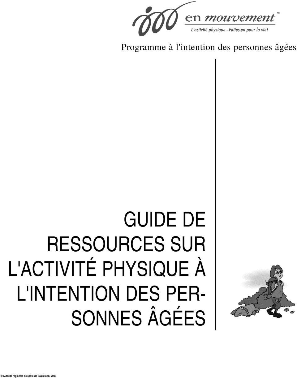 PHYSIQUE À L'INTENTION DES PER- SONNES