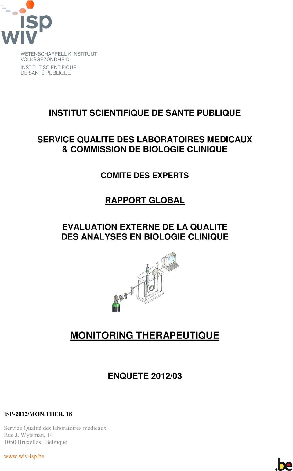 ANALYSES EN BIOLOGIE CLINIQUE MONITORING THERA