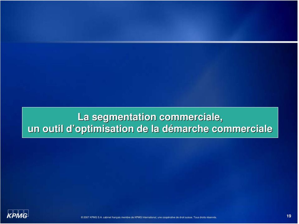 d optimisation d de