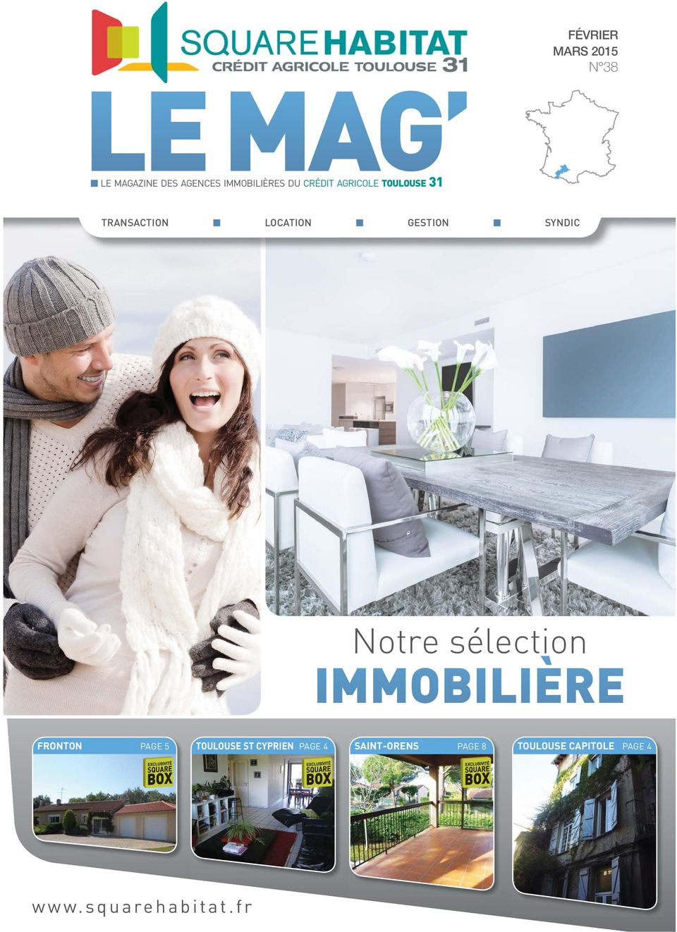LOCATION GESTION SYNDIC Notre sélection PAGE 5 ST