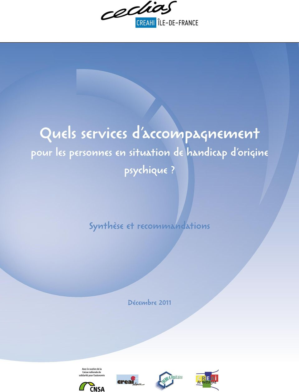 handicap d origine psychique?