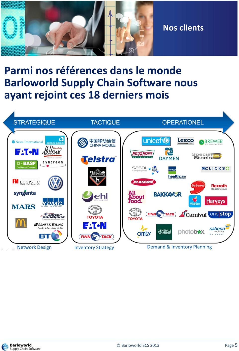 Chain Software nous ayant rejoint