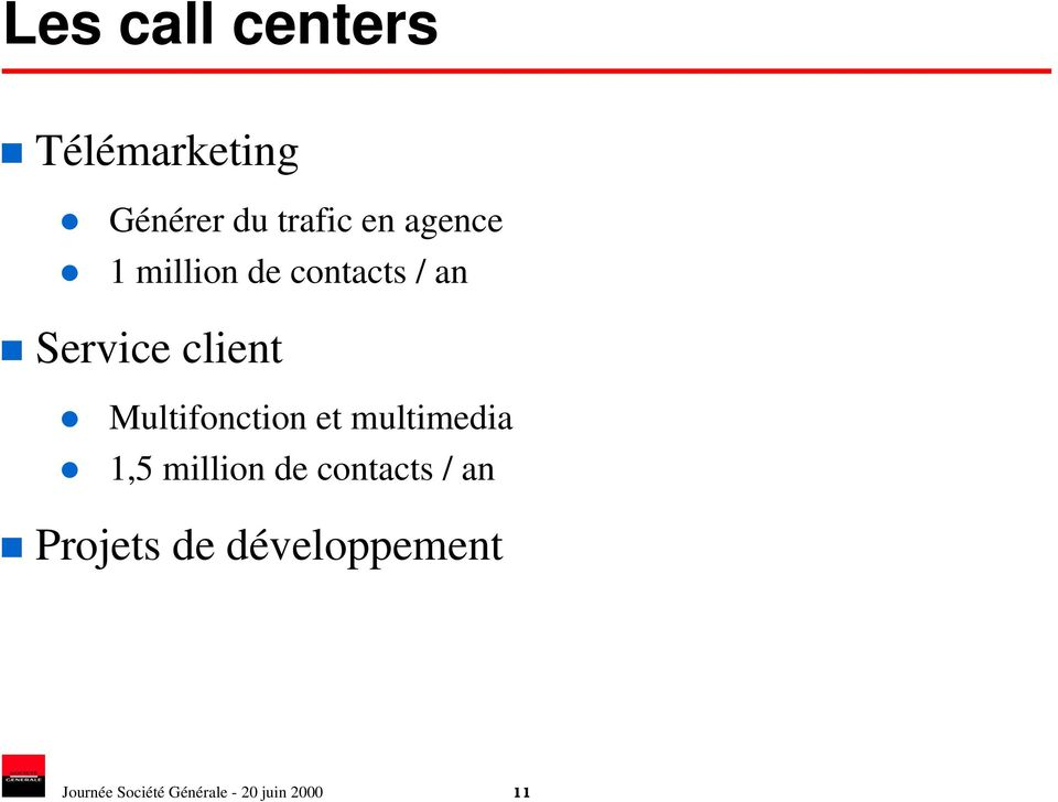 Multifonction et multimedia 1,5 million de contacts / an