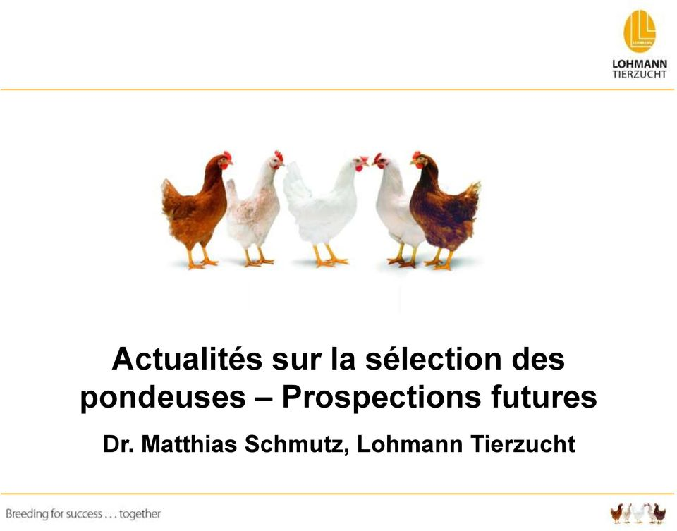 Prospections futures Dr.