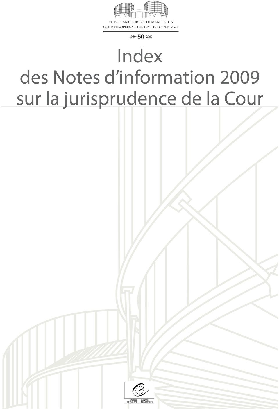 Notes d information 2009 sur la