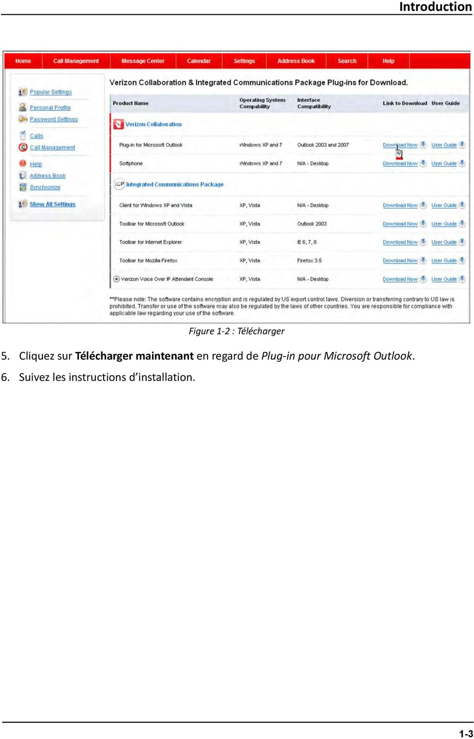 regard de Plug-in pour Microsoft Outlook.